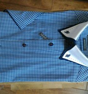 Рубашка с коротким рукавом 37-38 s