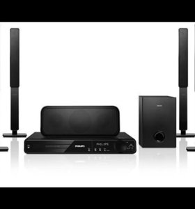 Philips DVD home theater system hts 3373