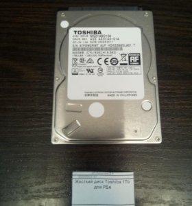 "Жесткий диск Toshiba 2.5"" 1 Tb для PS4, PS3 и ноут"