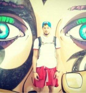 Художественное оформление, роспись стен, граффити