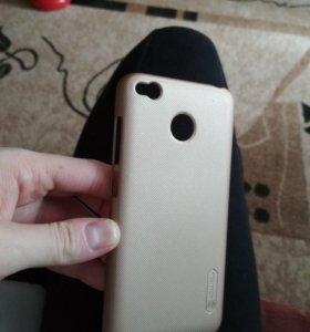 чехол-бамперNillkin для телефона xiaomi redmi 4x