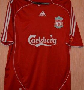 Футболка Liverpool домашняя, сезон 2007/2008