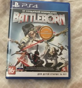 Игра на ps4 Battleborn