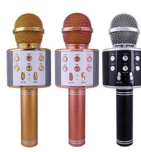 Беспроводной караоке микрофон WS 858