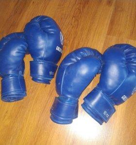 Боксерские перчатки, подростковые, 10oz, 1 пара
