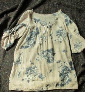 Блузка из тончайшего хлопка