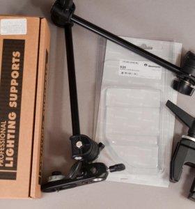 Manfrotto 196B-2 Single arm + 035 Super clamp