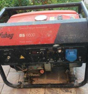 Электрогенератор Fubag BS 6600 (6.2 кВт)