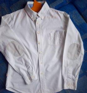 Белая рубашка на мальчика, Terranova , 140-146