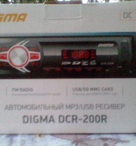 Магнитола DIGMA 4 канальная