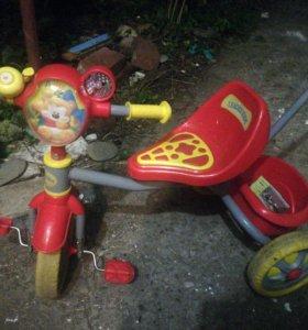 Детский велосипед с ручкой для взрослого