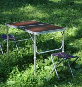 Стол для кемпинга со стульями