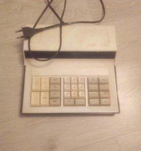 Счетная машинка для учета