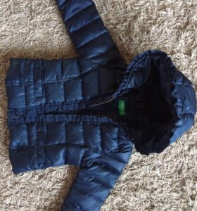 Курточка тёплая бинетон