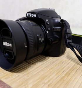 Nikon D3200+18-55 Kit+Nikon 35 mm f/1.8G AF-S DX