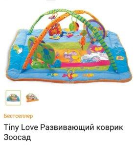 детский музыкальный развивающий коврик