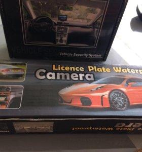 Камера заднего хода/вида с монитором на автомобиль