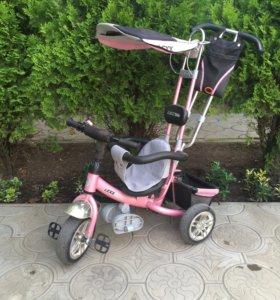 Детский велосипед (трехколёсный)