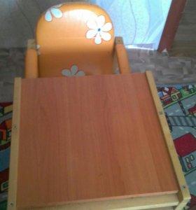 детский стул трансформер