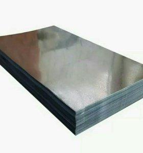 Гладкий лист Zn (0,35)2*1,25 (2,5 м2)
