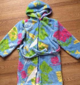 Теплый детский халат