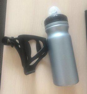 Бутылочка для воды велосипедная