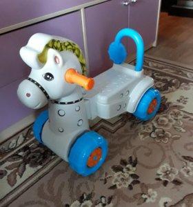 Каталка машинка лошадка
