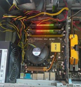 Игровой комп нач уровня Core2Duo с видео 1Gb