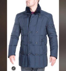 Пуховое пальто 50р новое