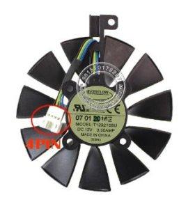 Вентилятор (кулер) для видеокарт Asus Strix