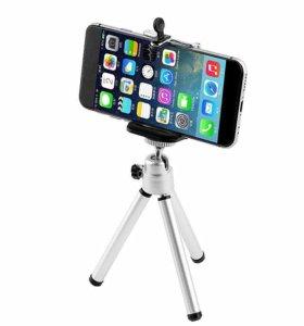 Штатив для телефона, фотоаппарата, камеры