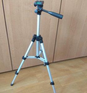 Тринога-штатив для гаджетов и камер