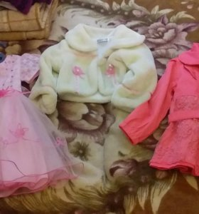 Детские вещи на девочку 2-3 года