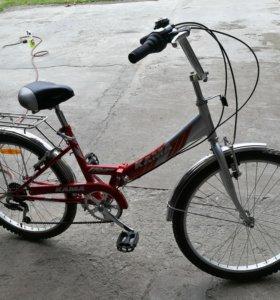 Велосипед Кама складной