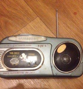 радио на батарейках