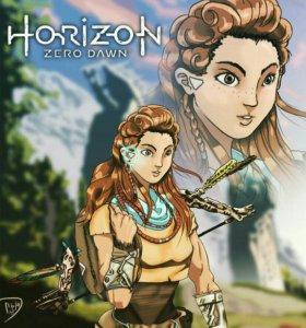 Продам или обмен horizon zero down +frozen wilds