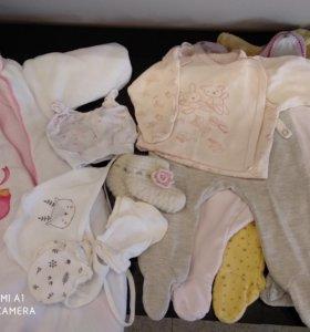 Пакет одежды для девочки, 56-62