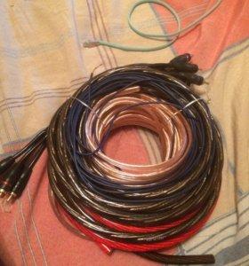 Новый комплект проводов на Саб