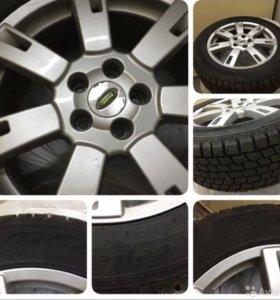Колёса от Range Rover sport