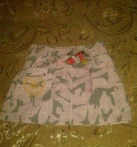 Фирминная юбка для девочки.