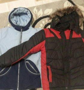 куртки 10-13 лет