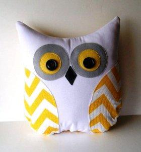 """Подушка для дивана """"сова"""""""