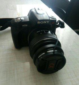 Фотоаппарат зеркальный СониА230