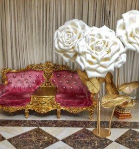 Ростовые цветы , цветы для декора