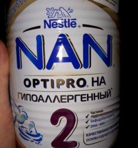 Детское питание Нан гипоаллергенный