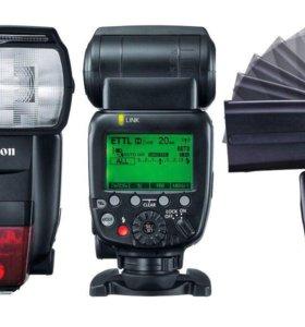 Новая супер вспышка Canon 600EX-RT