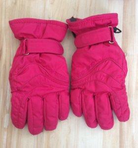 перчатки зимние утепленные на 7-8лет