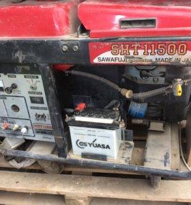 Бензиновый генератор Sawafuji SHT11500