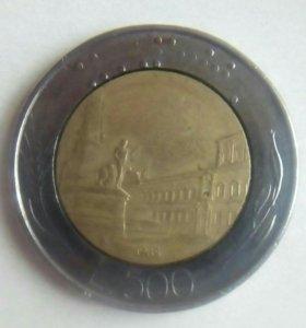 500 лир италия