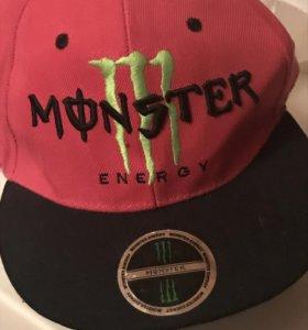 Кепка monster energy